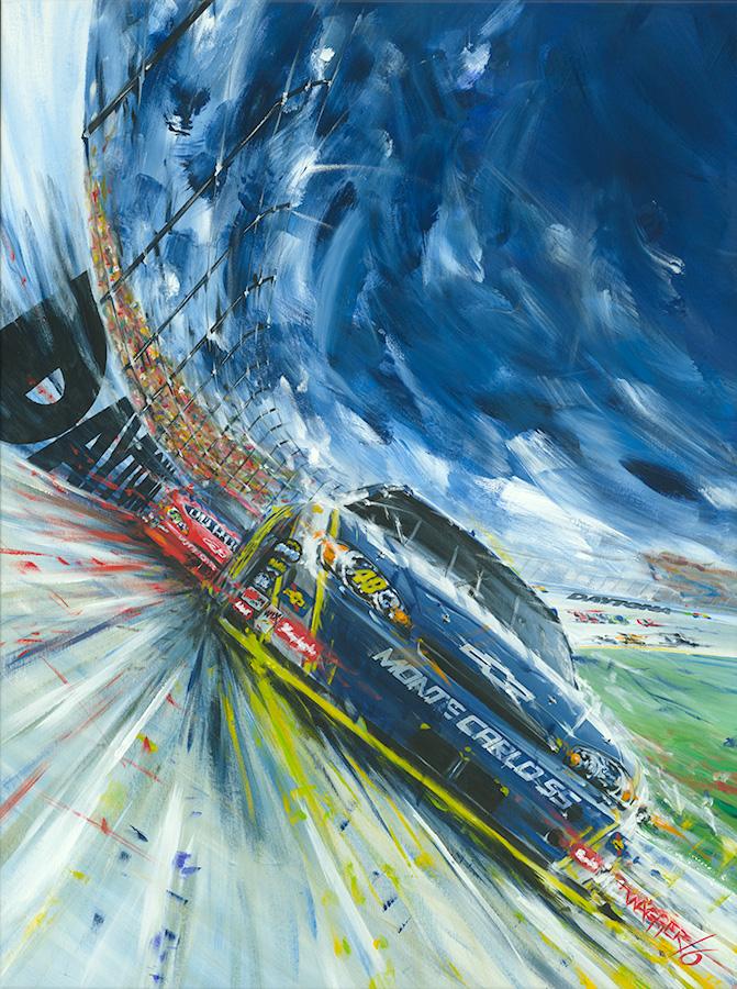 Daytona 500 Poster Art