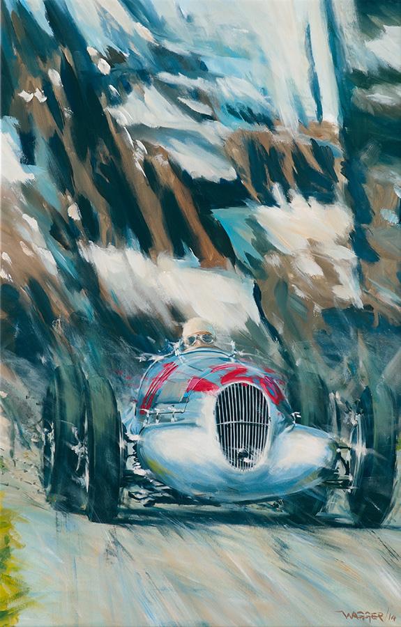 raw2 - Acryl auf Leinwand/Acrylic on canvas - Größe/size 90/140cm - Preis auf Anfrage/Price upon request