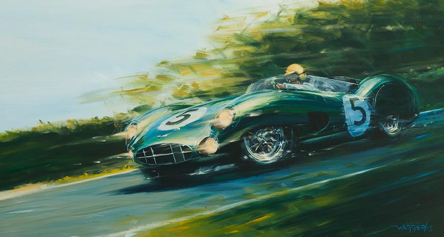 Shelby 24/59 - Acryl auf Leinwand/Acrylic on canvas - Größe/size 150/80cm - verkauft/sold