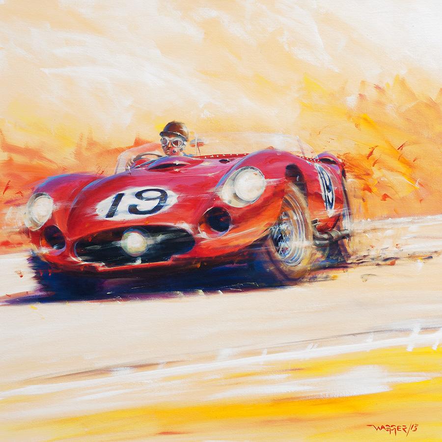 hot - Acryl auf Leinwand/Acrylic on canvas - Größe/size 90/90cm - verkauft/sold