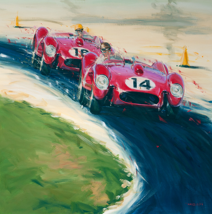 redheads II - Acryl auf Leinwand/Acrylic on canvas - Größe/size 140/140cm - Preis auf Anfrage/Price upon request