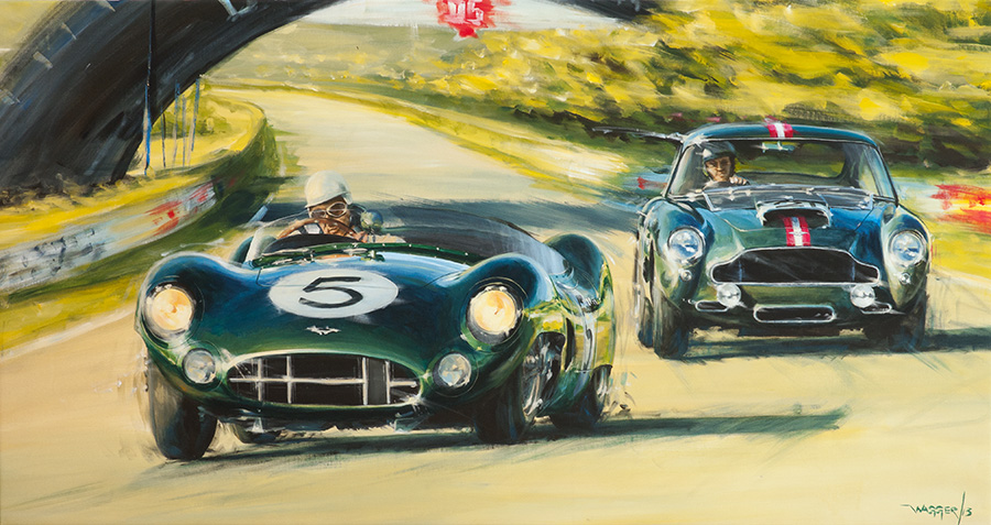 Aston's Finest - Acryl auf Leinwand/Acrylic on canvas - Größe/size 170/90cm - Preis auf Anfrage/Price upon request