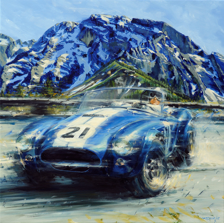 Rossfeld - Acryl auf Leinwand/Acrylic on canvas - Größe/size 100/100cm - verkauft/ sold