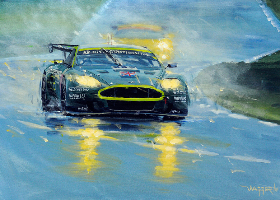 DBR9 - Acryl auf Leinwand/Acrylic on canvas - Größe/size 70/50cm - verkauft/sold