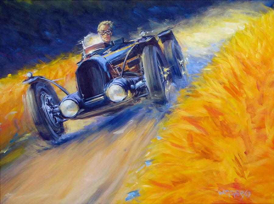 bugroyal - Acryl auf Leinwand/Acrylic on canvas - Größe/size 120/90cm - Preis auf Anfrage/Price upon request
