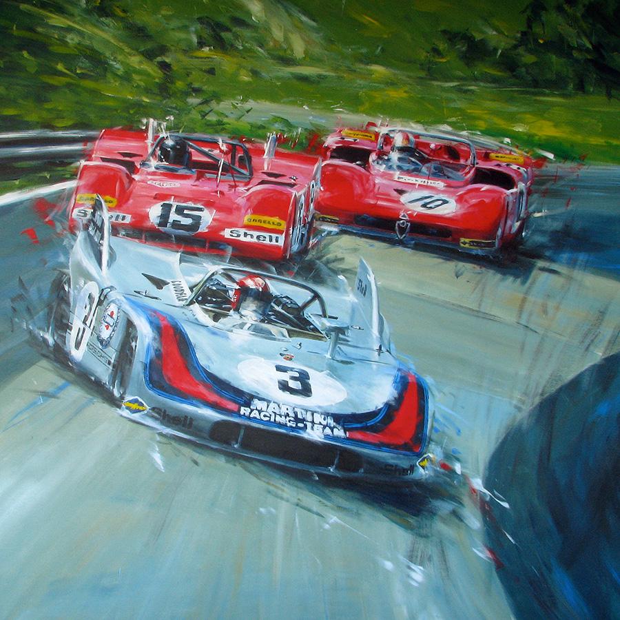nbrg.71 - Acryl auf Leinwand/Acrylic on canvas - Größe/size 140/140cm - Auftrag/commission