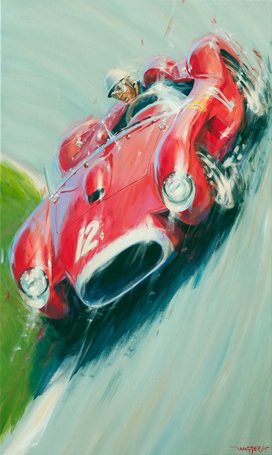 0748TR - Acryl auf Leinwand/Acrylic on canvas - Größe/size 90/150 cm - Preis auf Anfrage/Price upon request