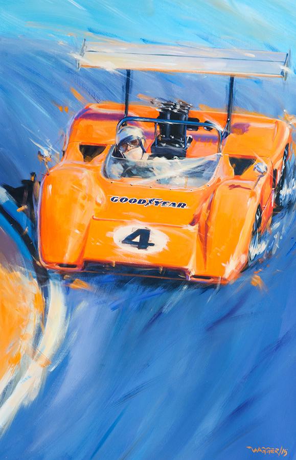 downforce - Acryl auf Leinwand/Acrylic on canvas - Größe/size 90/140 cm - Preis auf Anfrage/Price upon request