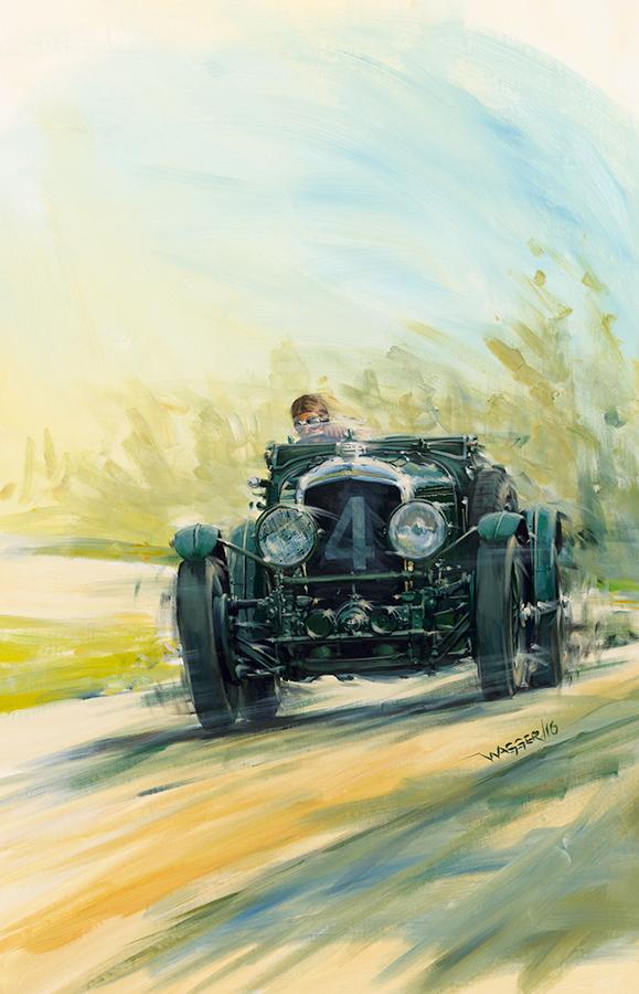 atspeed - Acryl auf Leinwand/Acrylic on canvas - Größe/size 90/140 cm - Preis auf Anfrage/Price upon request