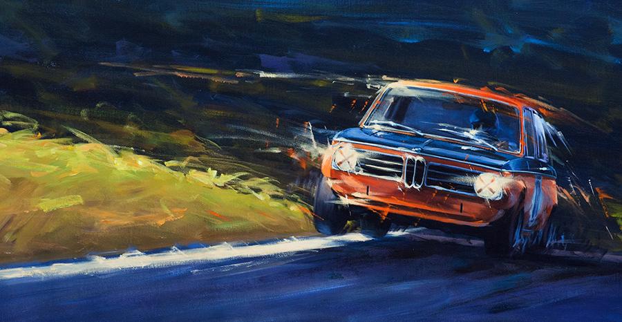 unstuck - Acryl auf Leinwand/Acrylic on canvas - Größe/size 83/43 cm - Preis auf Anfrage/Price upon request