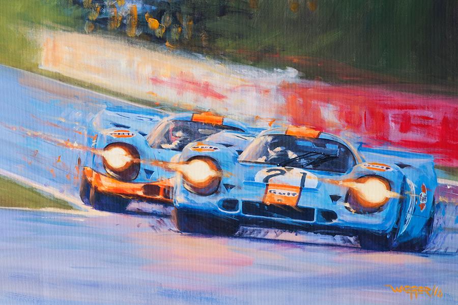 917(2) - Acryl auf Leinwand/Acrylic on canvas - Größe/size 90/60 cm - verkauft/sold