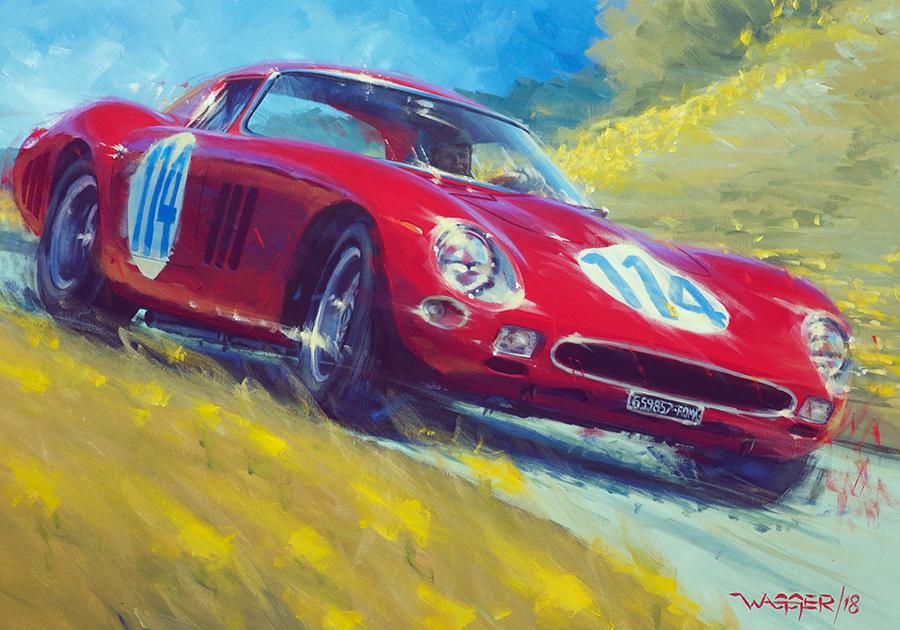 GTO - Acryl auf Leinwand/Acrylic on canvas - Größe/size 100/700 cm - Preis auf Anfrage/Price upon request