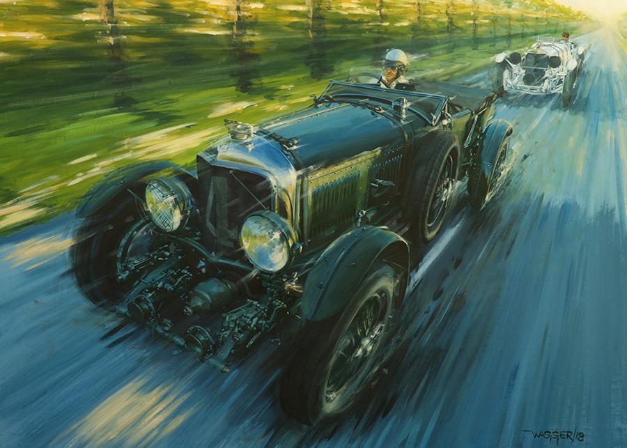 Trucks & Elephants - Acryl auf Leinwand/Acrylic on canvas - Größe/size 140/100 cm - Preis auf Anfrage/Price upon request