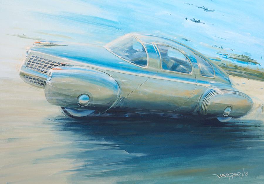 Tucker - Acryl auf Leinwand/Acrylic on canvas - Größe/size 90/70 cm - Preis auf Anfrage/Price upon request
