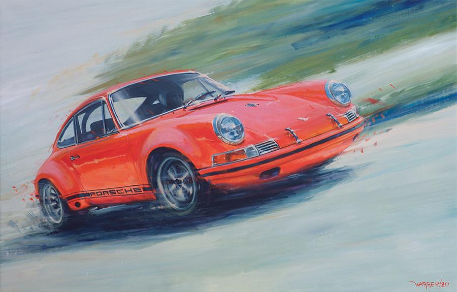 911ST - Acryl auf Leinwand/Acrylic on canvas - Größe/size 140/90 cm - Preis auf Anfrage/Price upon request
