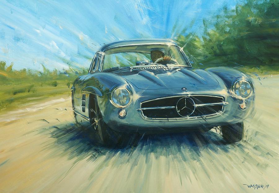 ain't no trailer queen - Acryl auf Leinwand/Acrylic on canvas - Größe/size 130/90 cm - Preis auf Anfrage/Price upon request