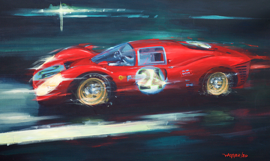 Shine A Light - Acryl auf Leinwand/Acrylic on canvas - Größe/size 150/90 cm - Preis auf Anfrage/Price upon request