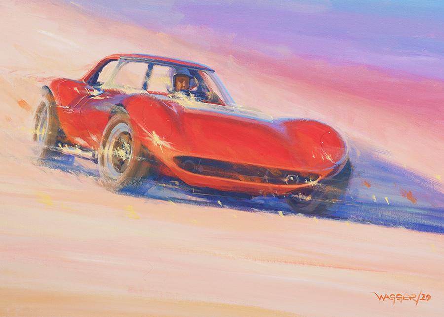 cheap thrills- Acryl auf Leinwand/Acrylic on canvas - Größe/size 70/50 cm - Preis auf Anfrage/Price upon request